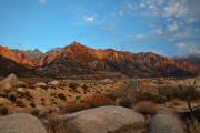 Road to Mt Whitney